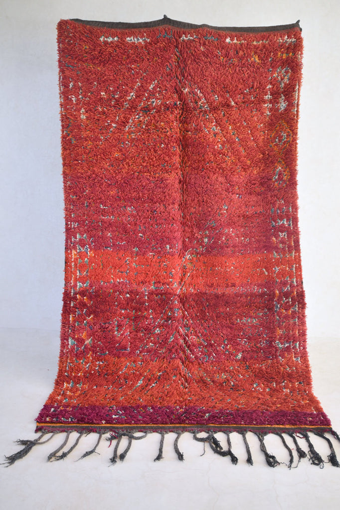 "SONG of the GANGES Beni M'Guild Rug. 10'3"" x 5'10"""