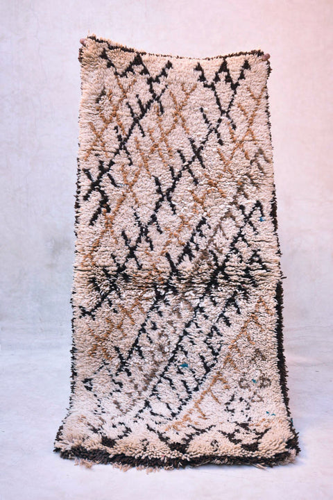 "The STEEP ASCENT Azilal Runner Rug. 5'8"" x 2'7"""