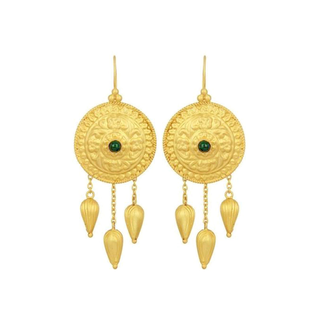 Du Ciel Qui Rougeoie Earrings