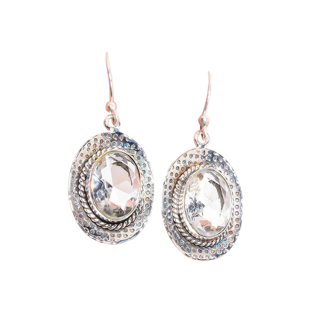 Ruisseau de Cristal Earrings