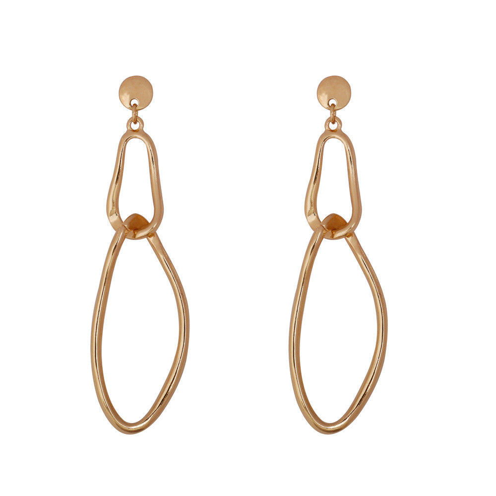 Broad Court Earrings