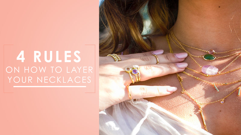4 Rules on How to Layer Your Necklaces