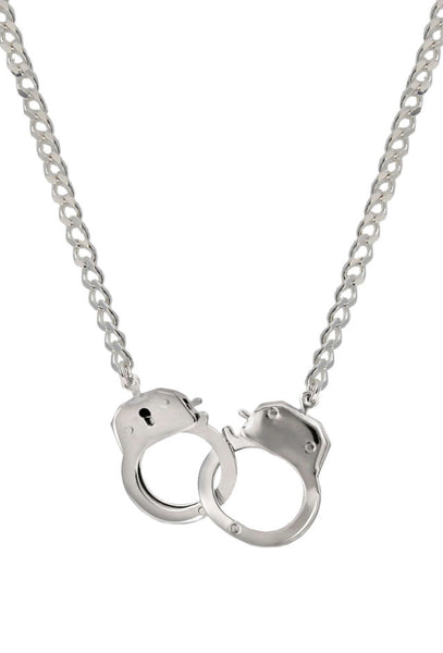 Caged Necklace (silver)