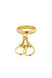 Guiltless Dangle Ring (gold)