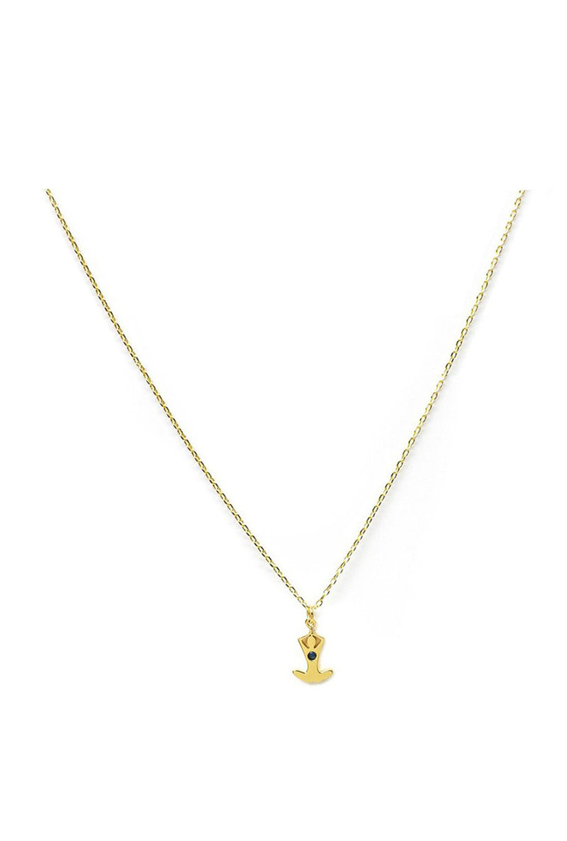 Anjali Charm Necklace - Salutation