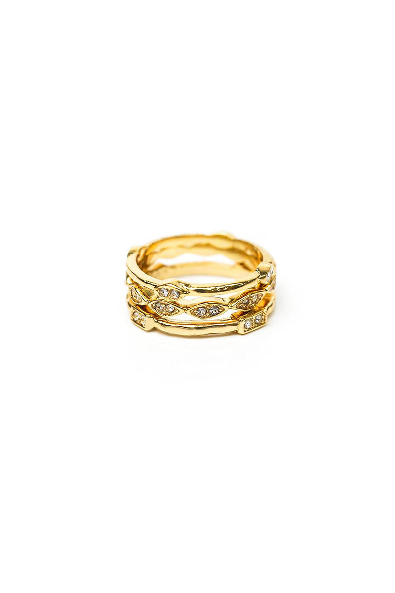 Coronet Stackable Rings