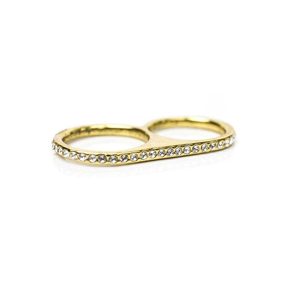 Shimmer Twosome Ring