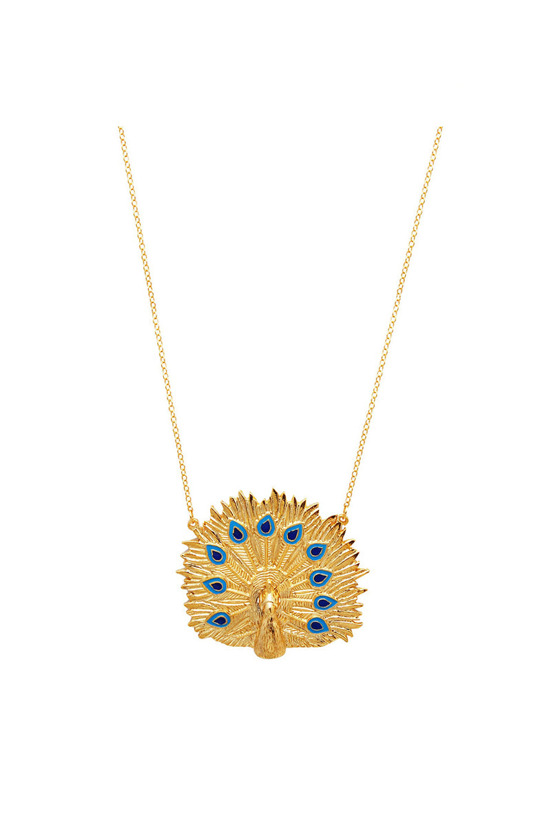 Pavo Necklace