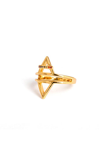 Aster Cocktail Ring