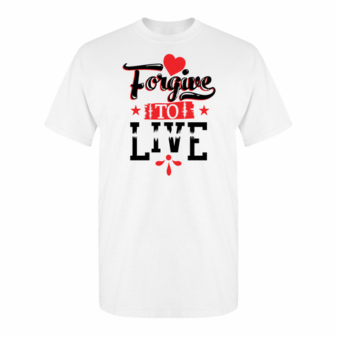 Forgive To Live (Blk-letters)