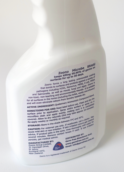 Zoono Microbe Shield Surface Sanitiser (Z-71)