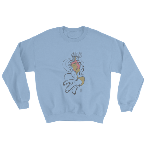 Jelly Sweatshirt- Blue