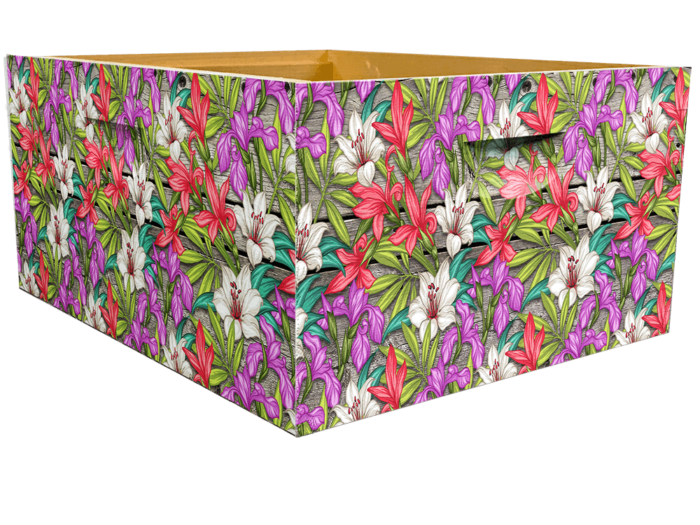 Flowers Theme - Bottom Deep Wrap