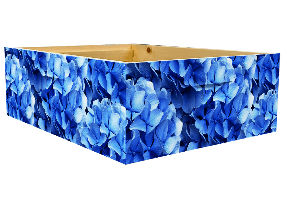 Blue Hydrangea Theme- Medium Super Wrap