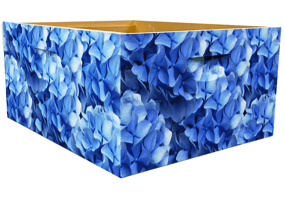 Blue Hydrangeas Theme - Bottom Deep Wrap