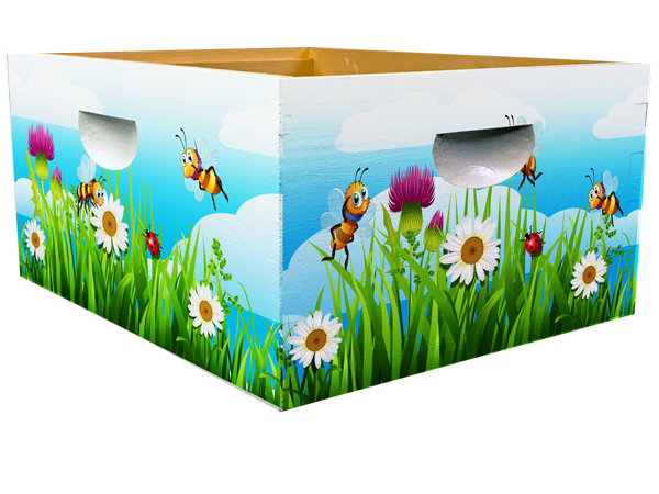 Bee Happy Theme - Grass Bottom Deep Wrap