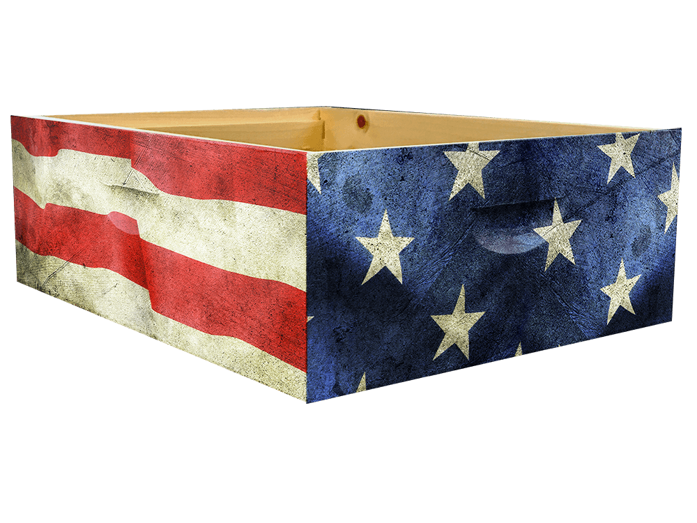 Distressed American Flag Theme- Medium Super Wrap