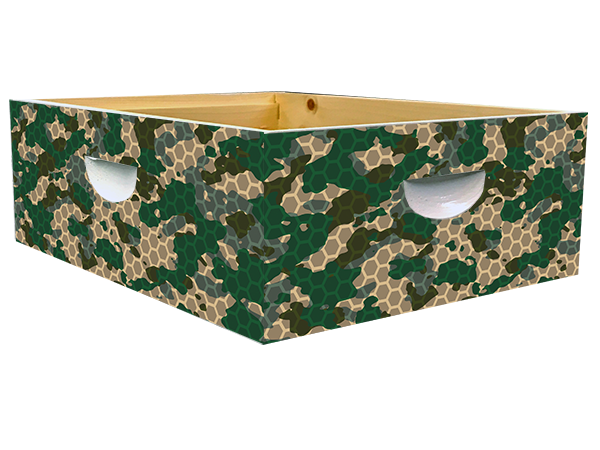 Green Camo Theme - Medium Super Wrap