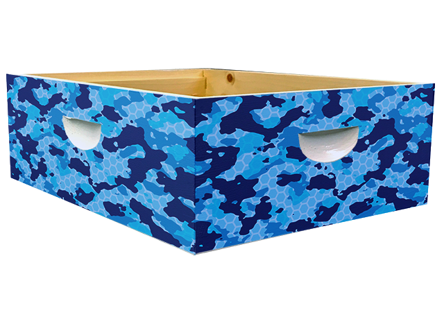 Blue Camo Theme - Medium Super Wrap