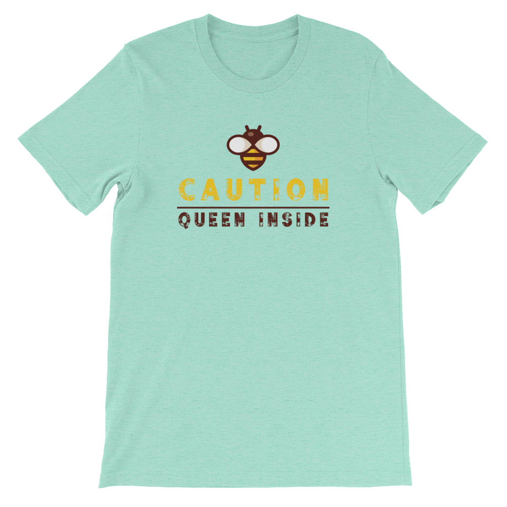 Caution Queen Inside Short-Sleeve Tee