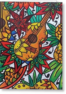 Play The Music - Greeting Card