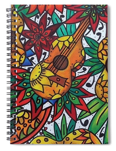 Play The Music - Spiral Notebook
