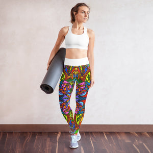 Mexicana Yoga Leggings