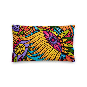 Sunflower Glory Premium Pillow