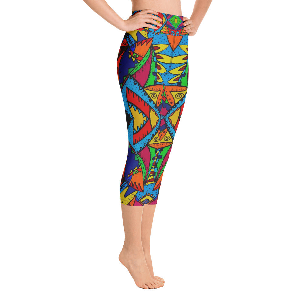 Island Thing Capri Leggings