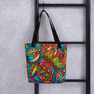 Tribal Fantasy Tote Bag