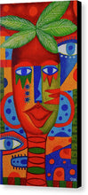 Load image into Gallery viewer, Mujer Roja  - Canvas Print