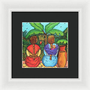 Quiet Moments - Framed Print