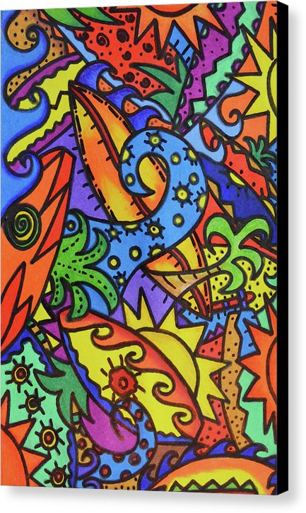 Sea Surfin' Canvas Print