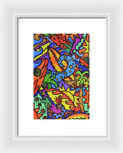 Sea Surfin' - Framed Print
