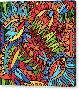 Tribal Fantasy Canvas Print