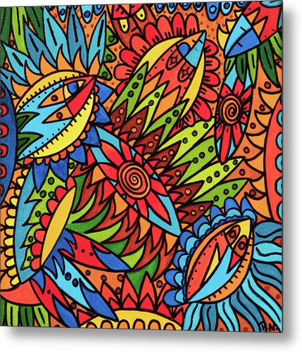 Tribal Fantasy  - Metal Print