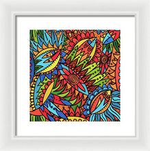 Load image into Gallery viewer, Tribal Fantasy  - Framed Print