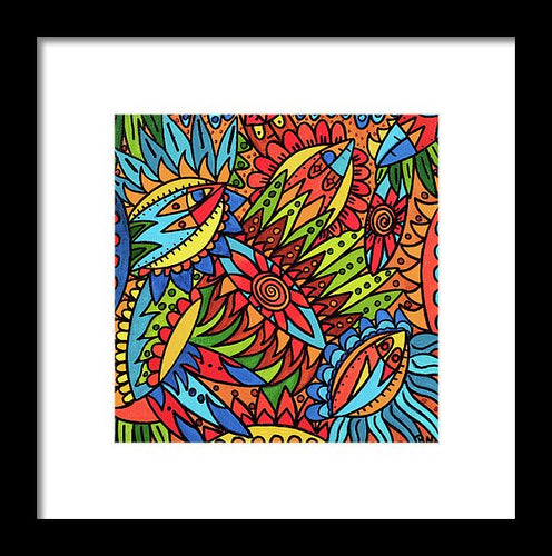 Tribal Fantasy  - Framed Print