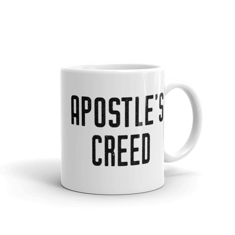 Apostle's Creed Mug - RCIA Teacher Gift - Catholic Bible Study Leader Gift