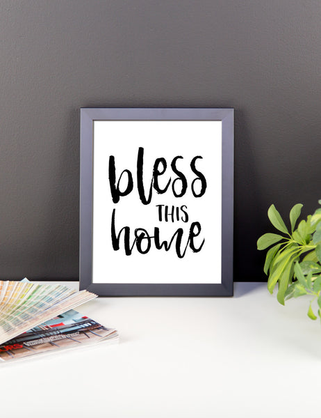 bless this home framed print