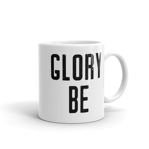 Glory Be Prayer Mug - Catholic Coffee Cup - Inspirational Christian Gift