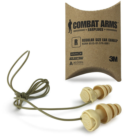 3M Combat Arms Generation 4 Tactical Earplugs