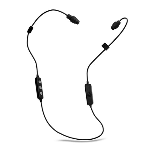 PlugFones Liberate 2.0 Bluetooth Ear Phones - Black / Black
