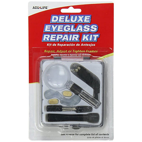 Acu-Life Deluxe Eye Glass Repair Kit