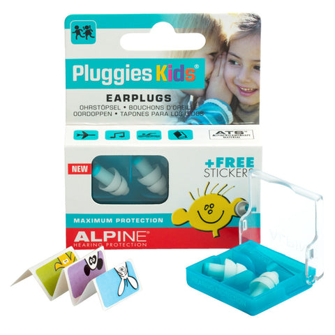 Alpine Pluggies Swim Earplugs