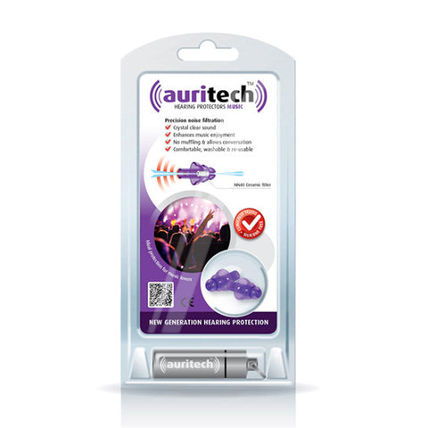 Auritech Music Ear Plugs