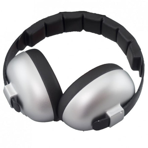 Baby-Banz Mini Ear Defenders - Silver