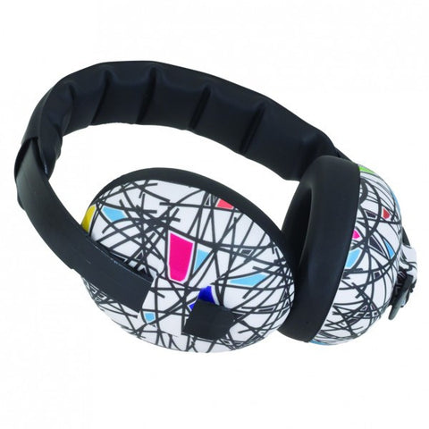 Baby-Banz Mini Ear Defenders - Squiggle