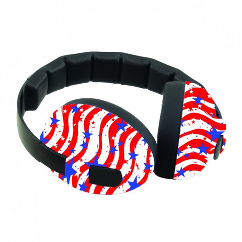 Baby-Banz Mini Ear Defenders - Stars & Stripes