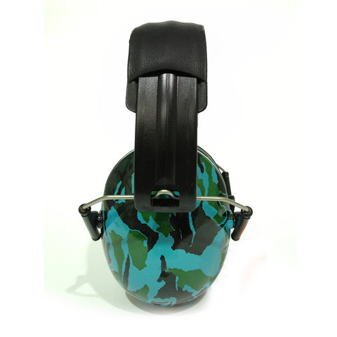 Banz Ear Defenders For Kids - Blue Camo